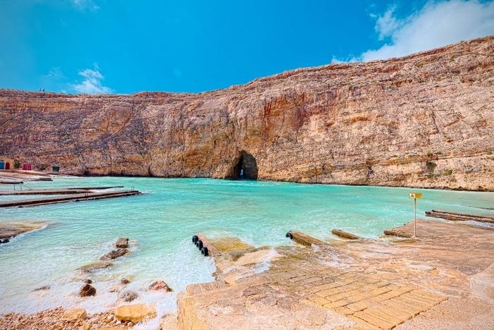 gozo malta Dwejra küste