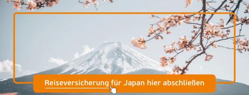 reiseversicherung japan abschließen