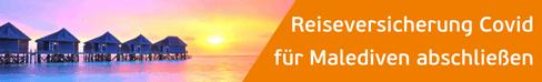 reiseversicherung mit corona schutz für malediven